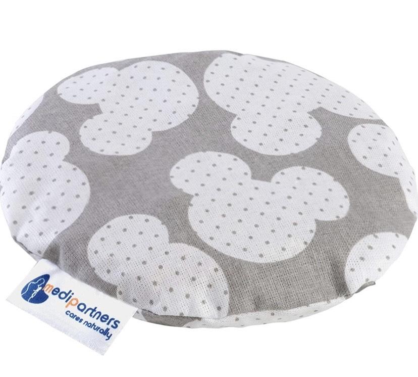Cojín 15 cm Ecológica Natural 100% Algodón Medi Partners Cojin Masaje con calor + frío (Sol de copo de nieve)