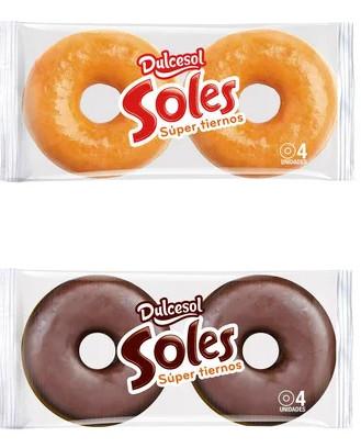 Soles de Dulcesol Azúcar o Chocolate por sólo 10 céntimos la ud. (Paquete a 0,40€) en el Alcampo Pamplona