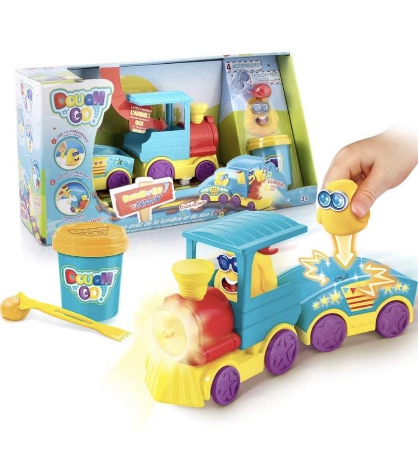 Canal Toys - Tren y Pasta para modelar
