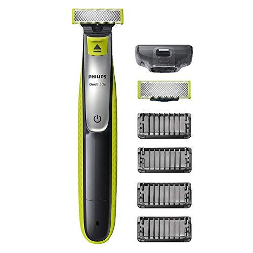 Philips OneBlade QP2530/30 - Recortador de Barba con 4 Peines de 1,2,3,4,5 mm