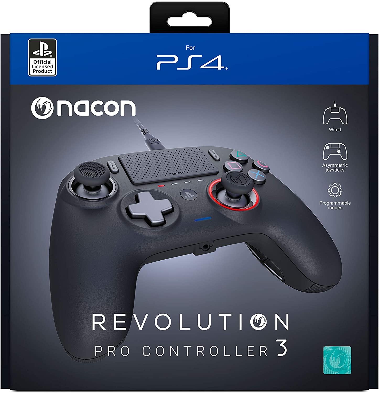 Mando Nacon Pro Controller Revolution 3 - Mando para PS4 y PC