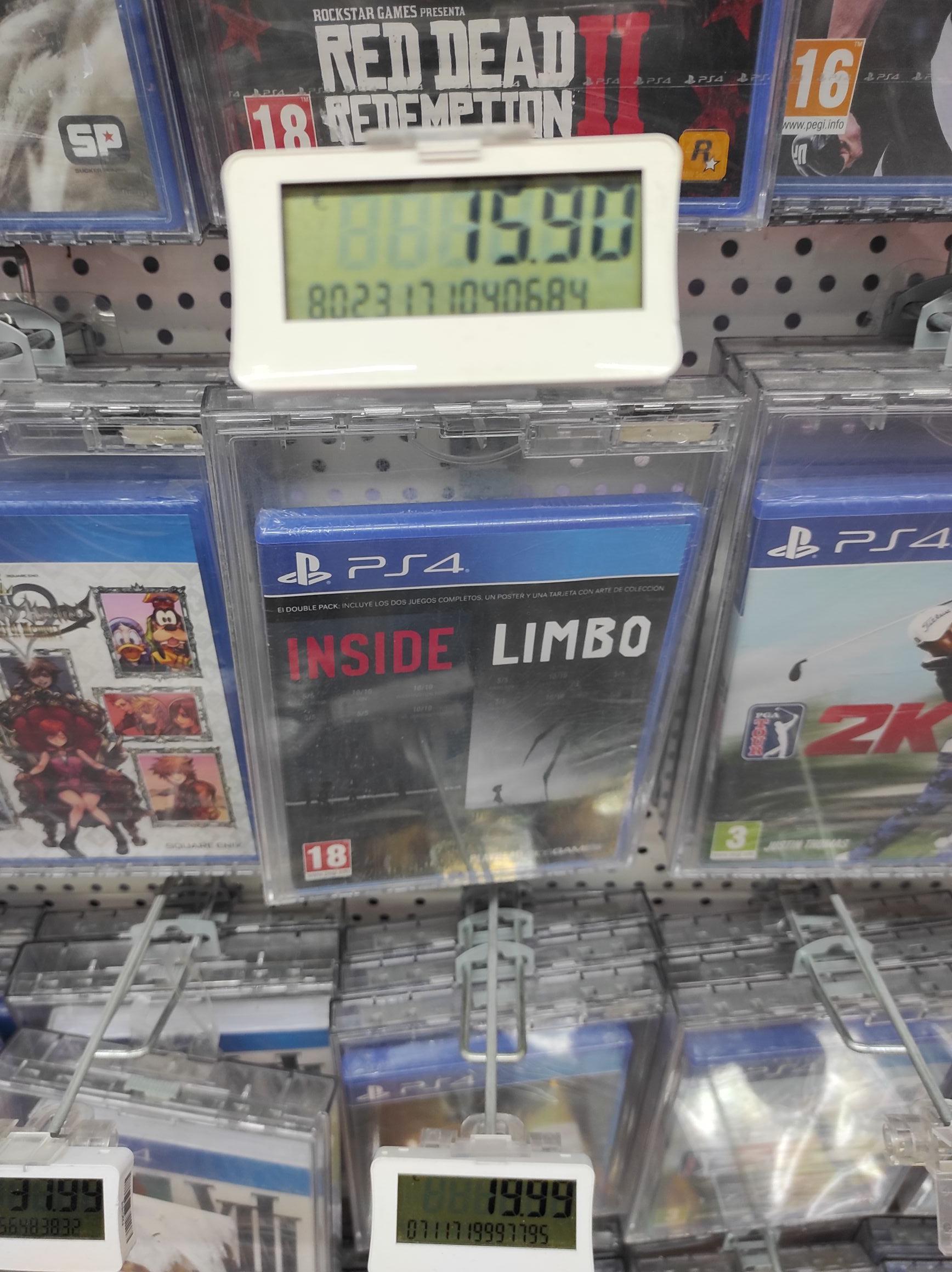 Limbo Inside ps4 en mediamarkt Terrassa parc valles