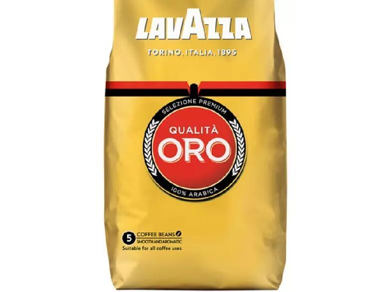 Café de grano tostado - Lavazza, Qualità Oro, 500 g