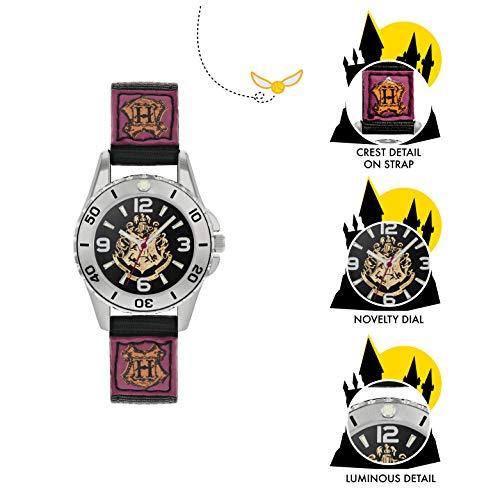 Harry Potter Reloj para de Cuarzo con Correa en Lona