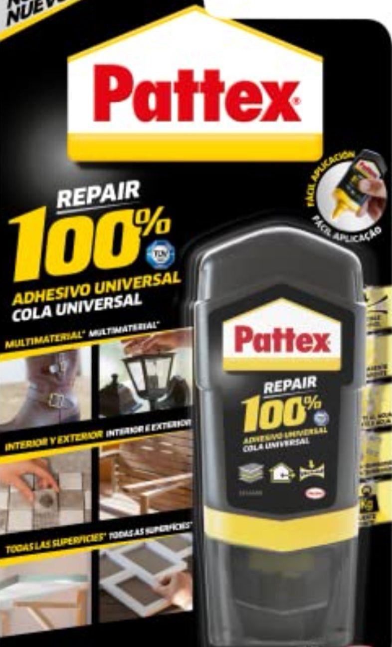 Pattex 100%, pegamento multimaterial transparente 50 gr
