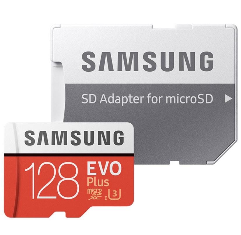Tarjeta micro SD Samsung Evo Plus de 128GB