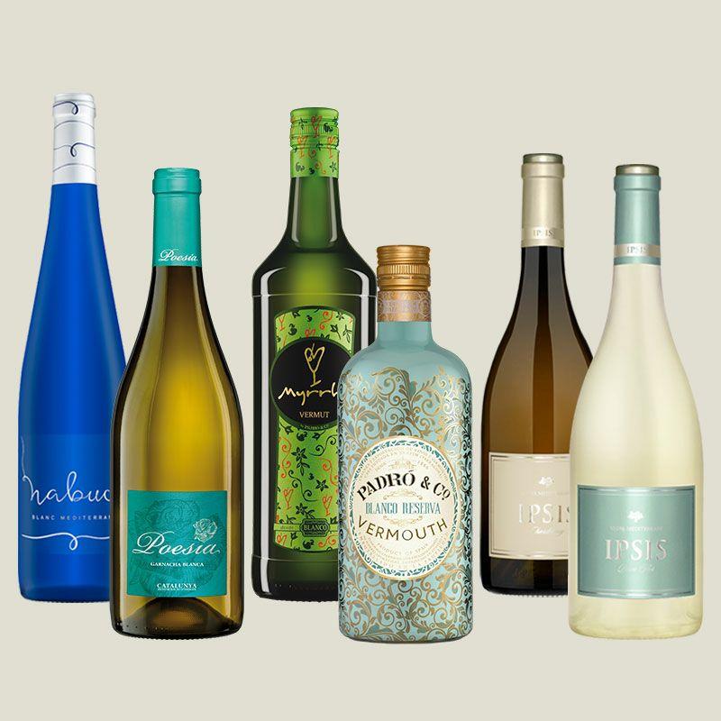 Pack Vermuts y Vinos blancos