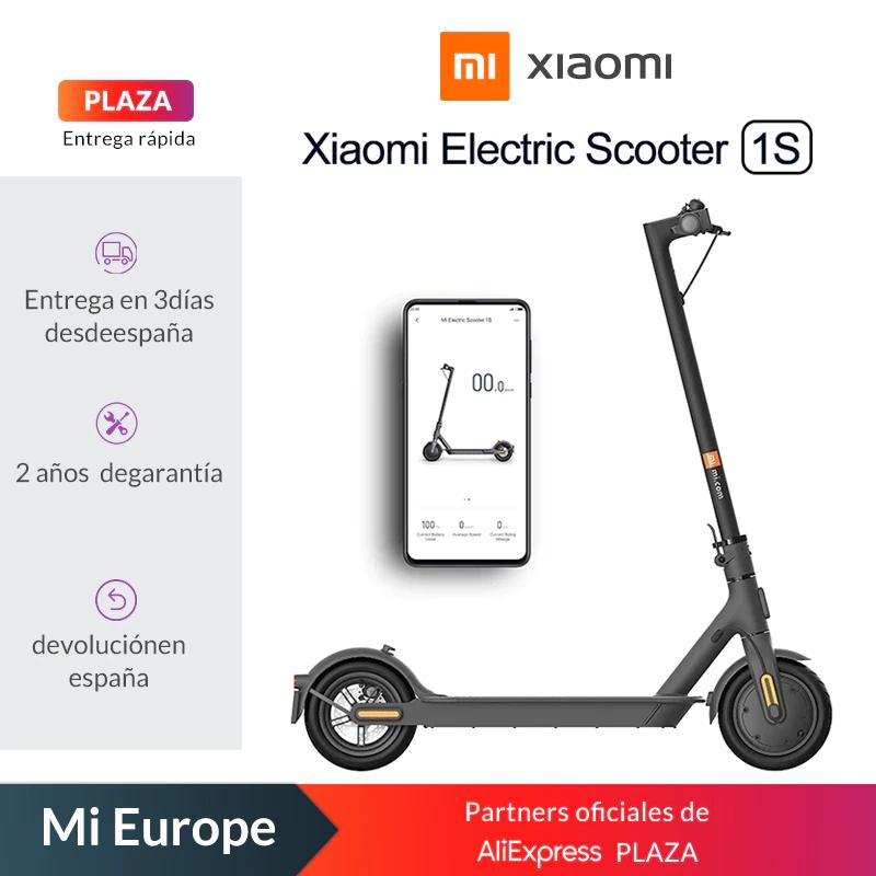 Pack Patín Xiaomi 1S + inflador