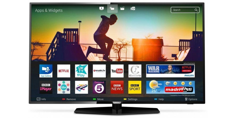 "PHILIPS 43PUS6162 Tv 43"" Led UHD 4K Smart Tv 700Hz"