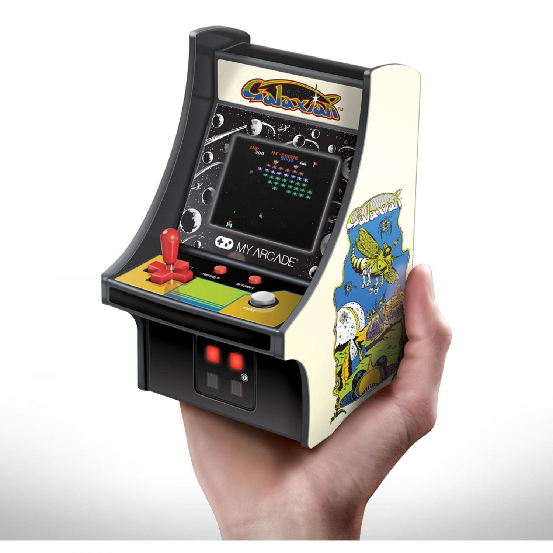 Mini consola retro arcade galaxian