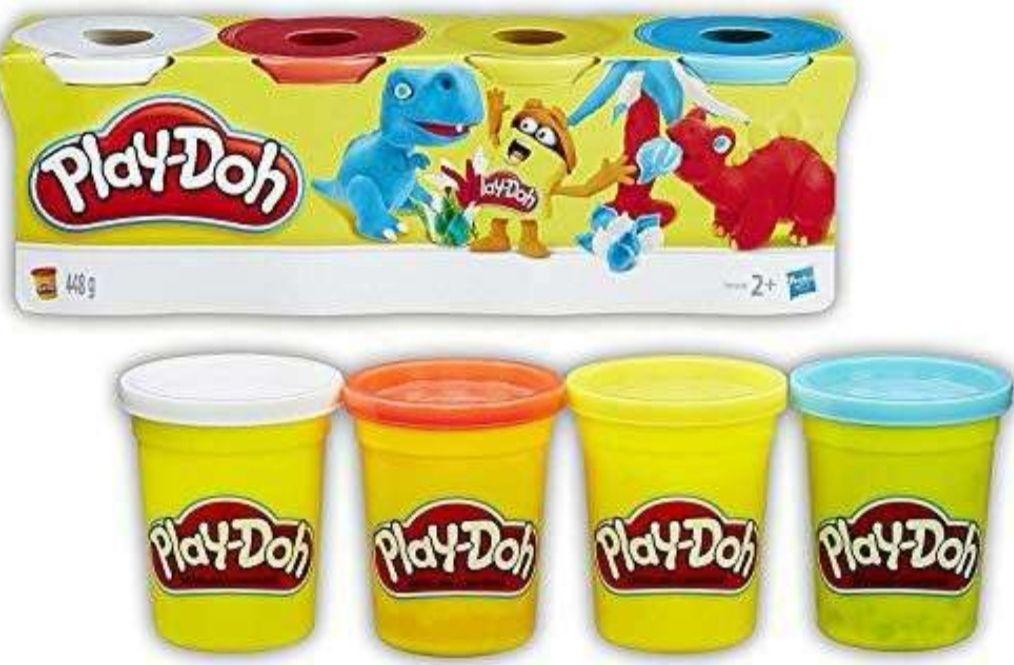 Play-Doh - Pack 4 Botes (Precio al tramitar) + En Descripción