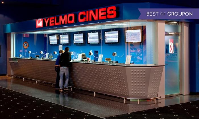 Entradas de cine en Yelmo!!