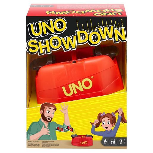 Mattel - Uno Showdown - Juego de Cartas