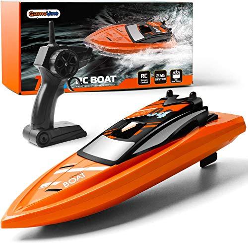 Barcos de control remoto para piscinas y lagos