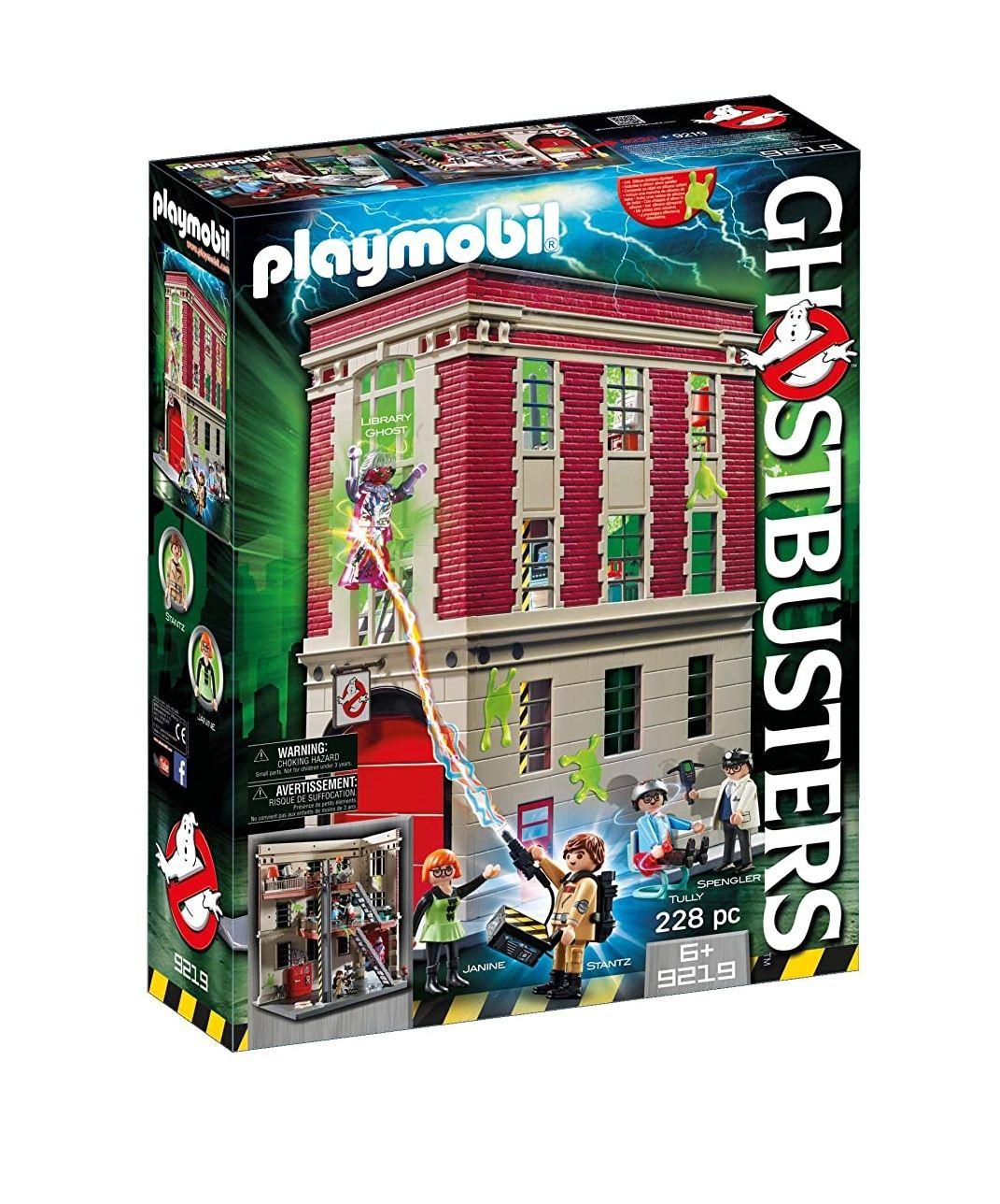 PLAYMOBIL 9219 Ghostbusters, Cuartel Parque de Bomberos, a
