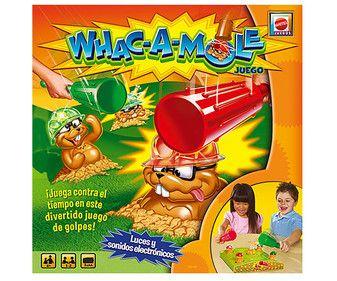 Whac-A-mole juego de mesa infantil