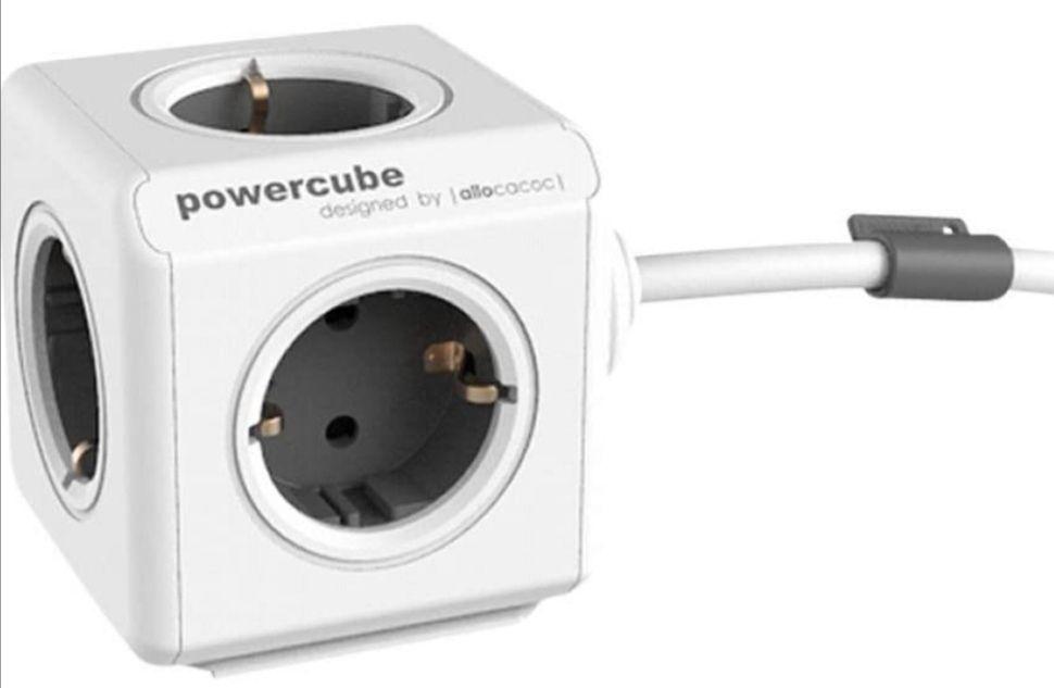 PowerCube Extended, Ladrón multiple con 5 enchufes