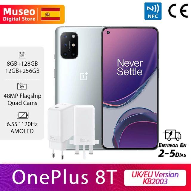 Oneplus 8T 8/128Gb(Global KB2003 con enchufe UK)