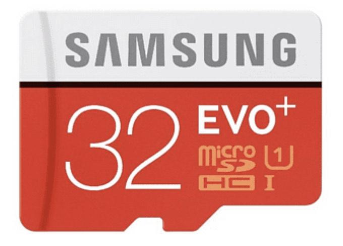 Tarjeta MicroSDHC 32 GB - Samsung EVO Plus