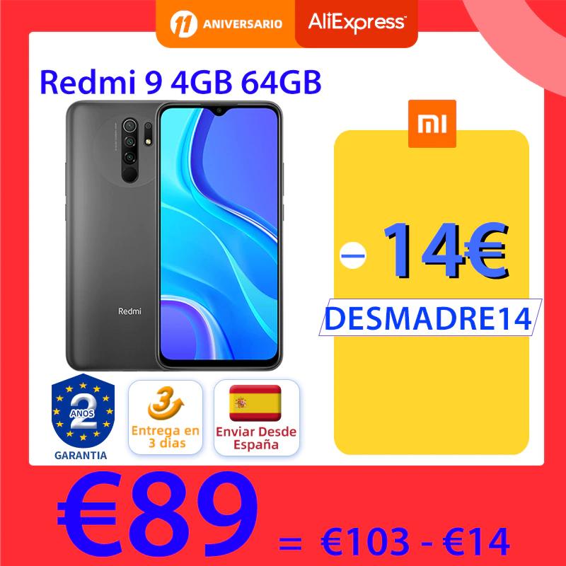 Xiaomi Redmi 9 4+64GB(Desde España)