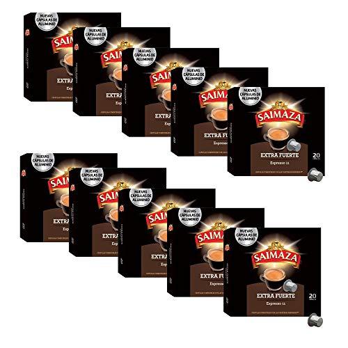 Lote de 200 Capsulas Saimaza para Nespresso (compra recurrente)