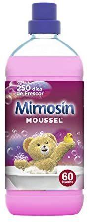 Mimosín Suavizante Moussel - 60 Lavados 1200 g - Pack de 8 (varias fragancias)