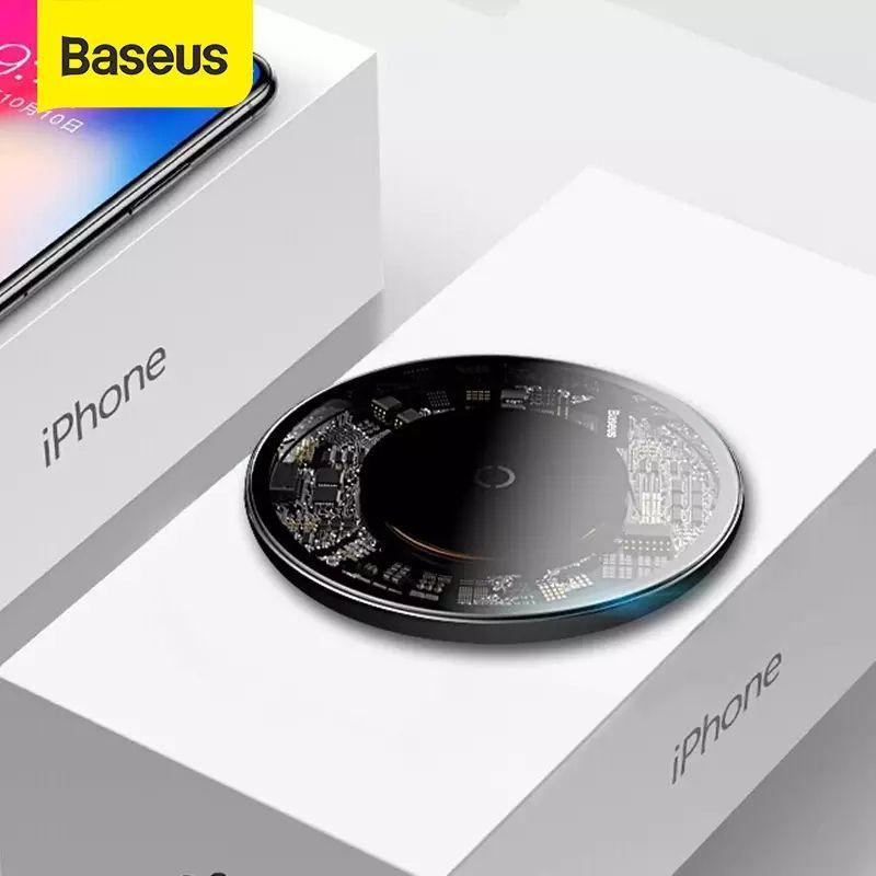 Baseus base Qi carga Inalámbrica 10W. Envío desde España.