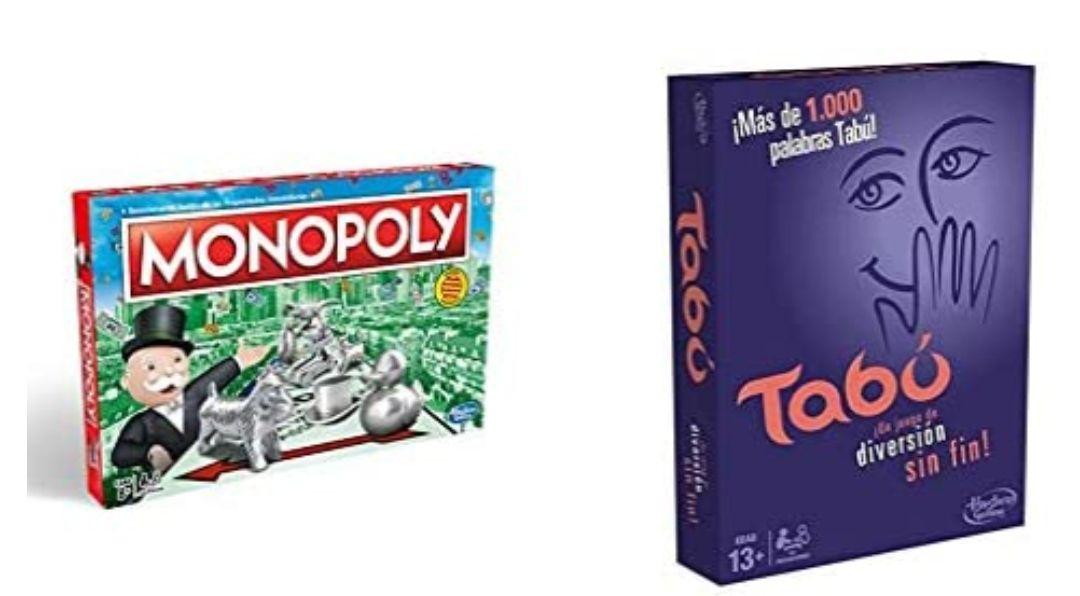 Monopoly Calles de Barcelona + Hasbro Gaming TABÚ