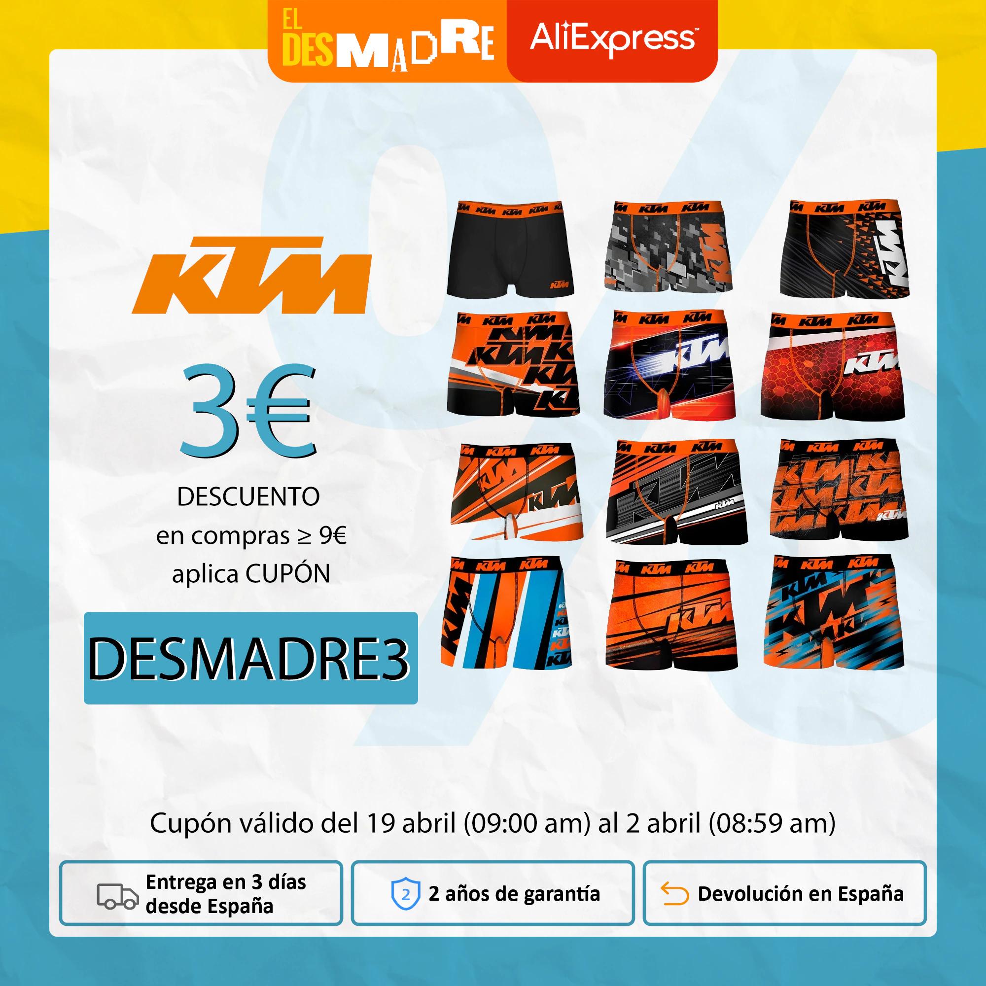 Calzoncillos KTM microfibra a 7€!