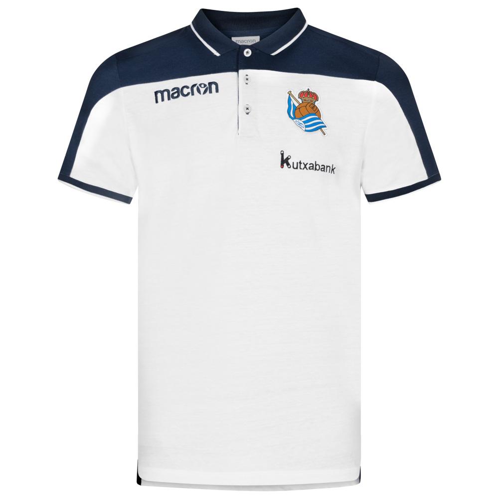 TALLAS S a XL - Polo macron Real Sociedad