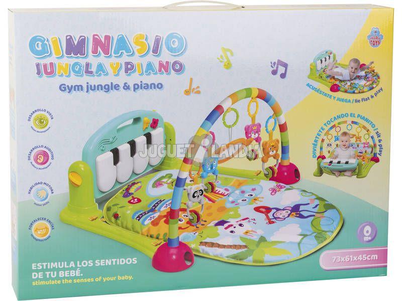 Manta Gimnasio con Piano - PICCOLO TOYS