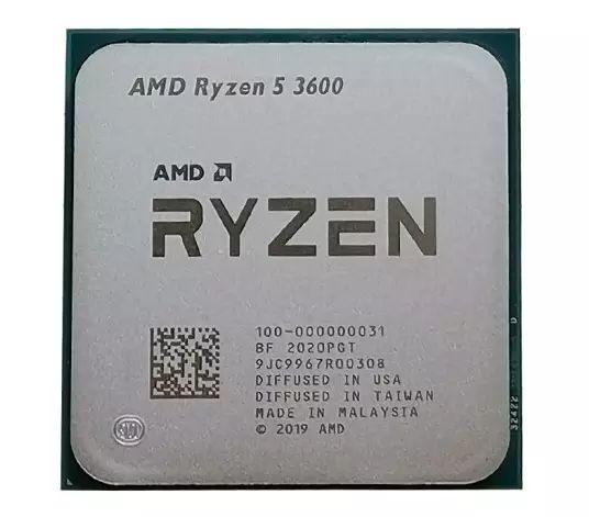 AMD Ryzen 5 3600 sin disipador