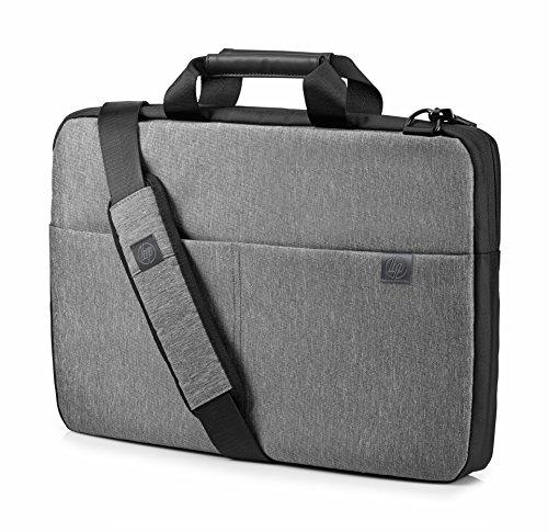 "HP Signature Slim - Funda maletín Gris de hasta 15.6"""