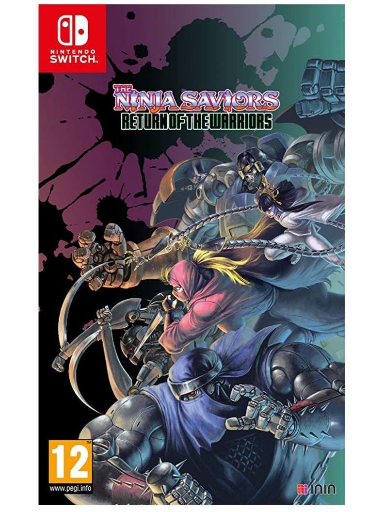 The Ninja Saviors Return Of The Warriors (Switch)