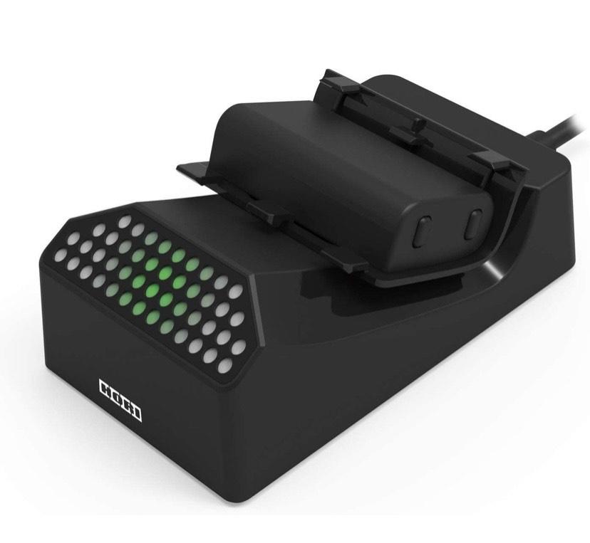 HORI - Base de carga individual con batería recargable (Xbox Series X S/Xbox One)