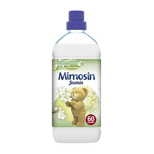 Pack de 8 botellas de Mimosín Concentrado Suavizante Jazmín - 60 Lavados 1200 g - varios olores.