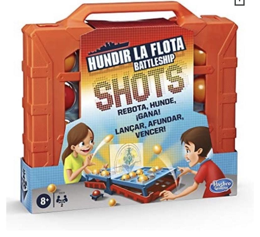 Hasbro Gaming- Hundir La Flota Shots