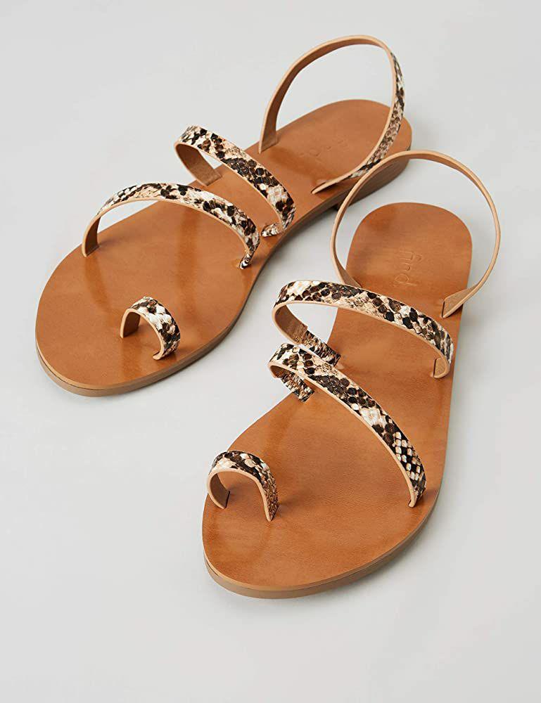 TALLA 40 - Marca Amazon - find. Sandalias de Gladiador Mujer