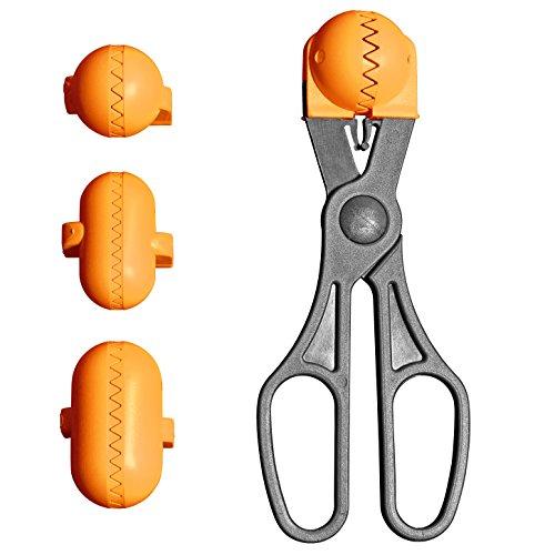 La Croquetera. 4 moldes Intercambiables para masas + Pack 20 Bandejas conservación