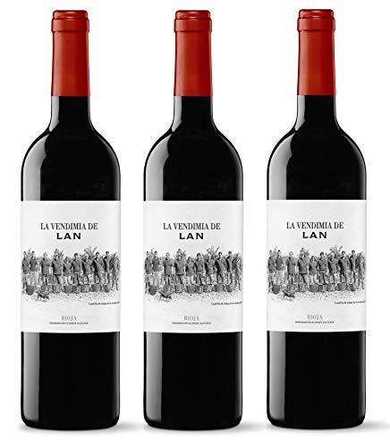 Vino Tinto La Vendimia de LAN Reserva D.O.Ca. Rioja - 3 botellas de 75 cl