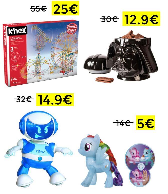 Liquidación en selección juguetes El Corte Inglés