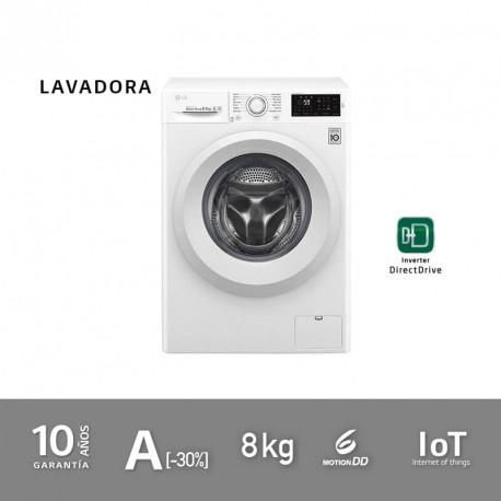 Lavadora LG F0J5TN3W A+++(OUTLET) de 8kg