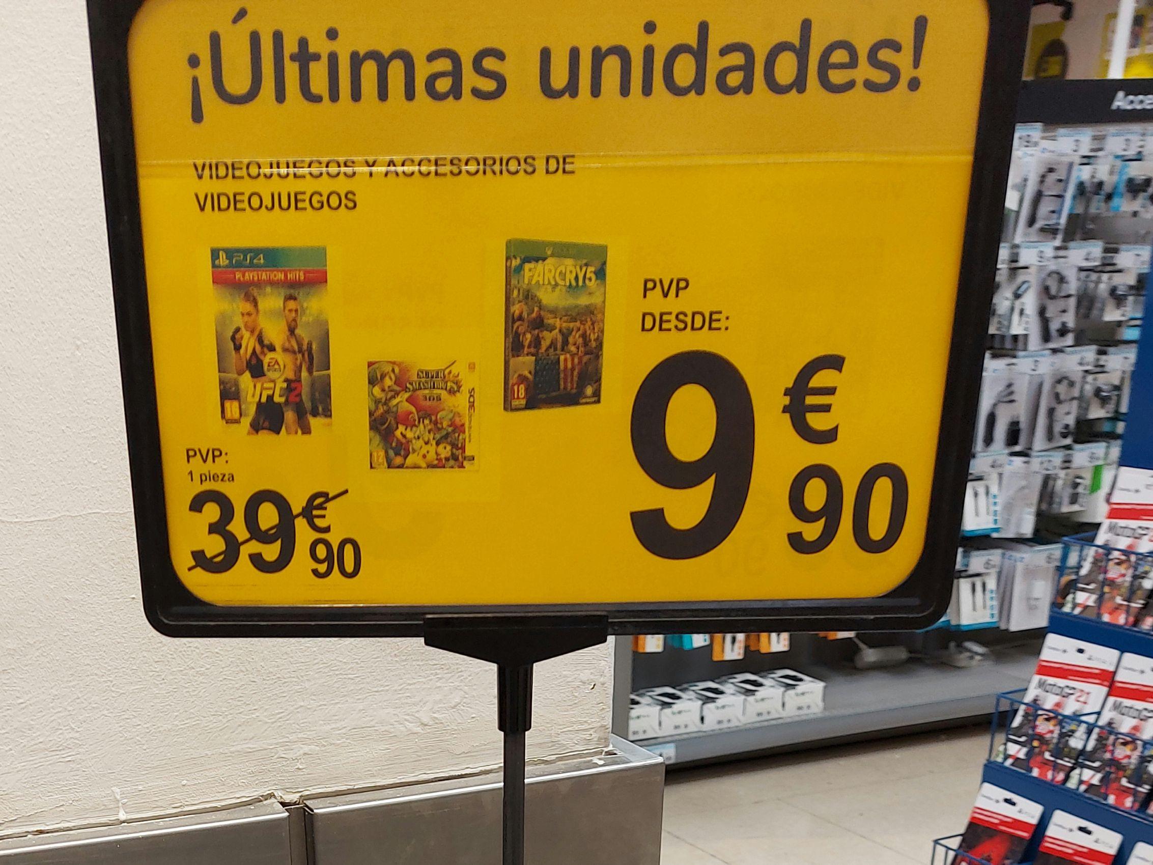 Saldos Videojuegos (Carrefour Salamanca)