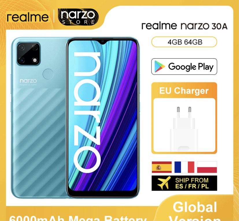 Realme Narzo 30A 4GB/64GB Versión Global