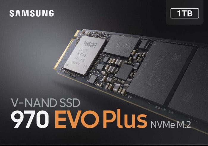 Samsung 970 Evo Plus, Unidad de Estado Sólido M.2 1000GB V-NAND MLC, PCI Express 3.0