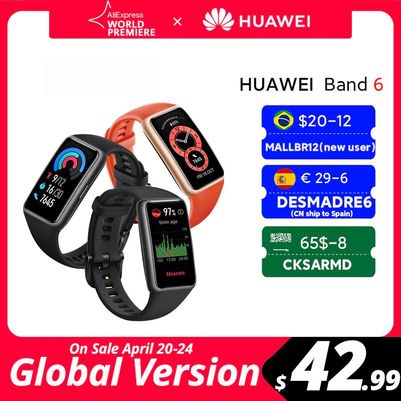 Huawei Band 6 (Versión Global)