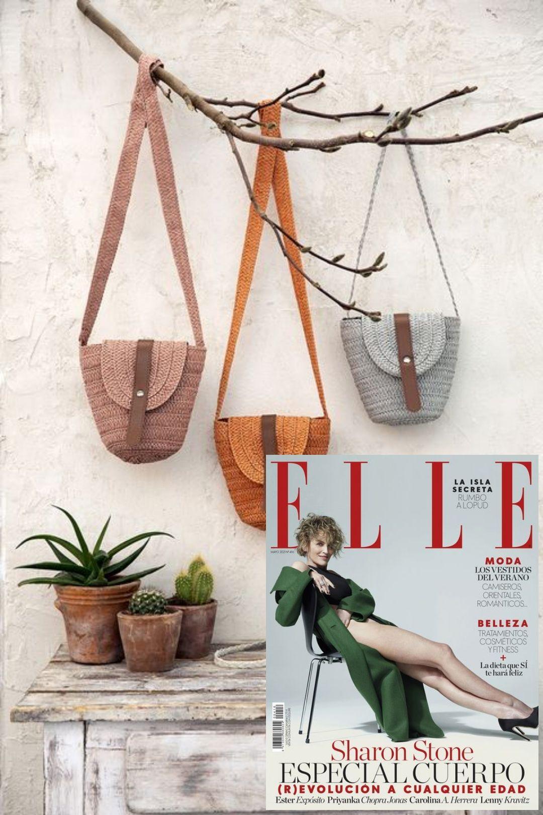 Bolso para el verano de regalo con la revista Elle Pocket