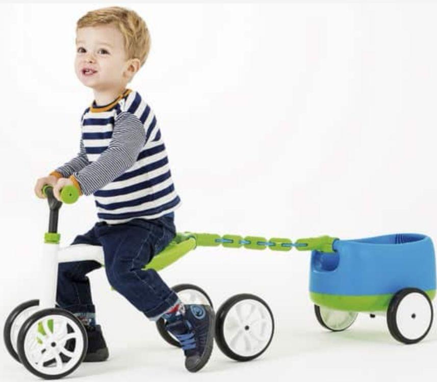 Triciclo niñ@s con remolque