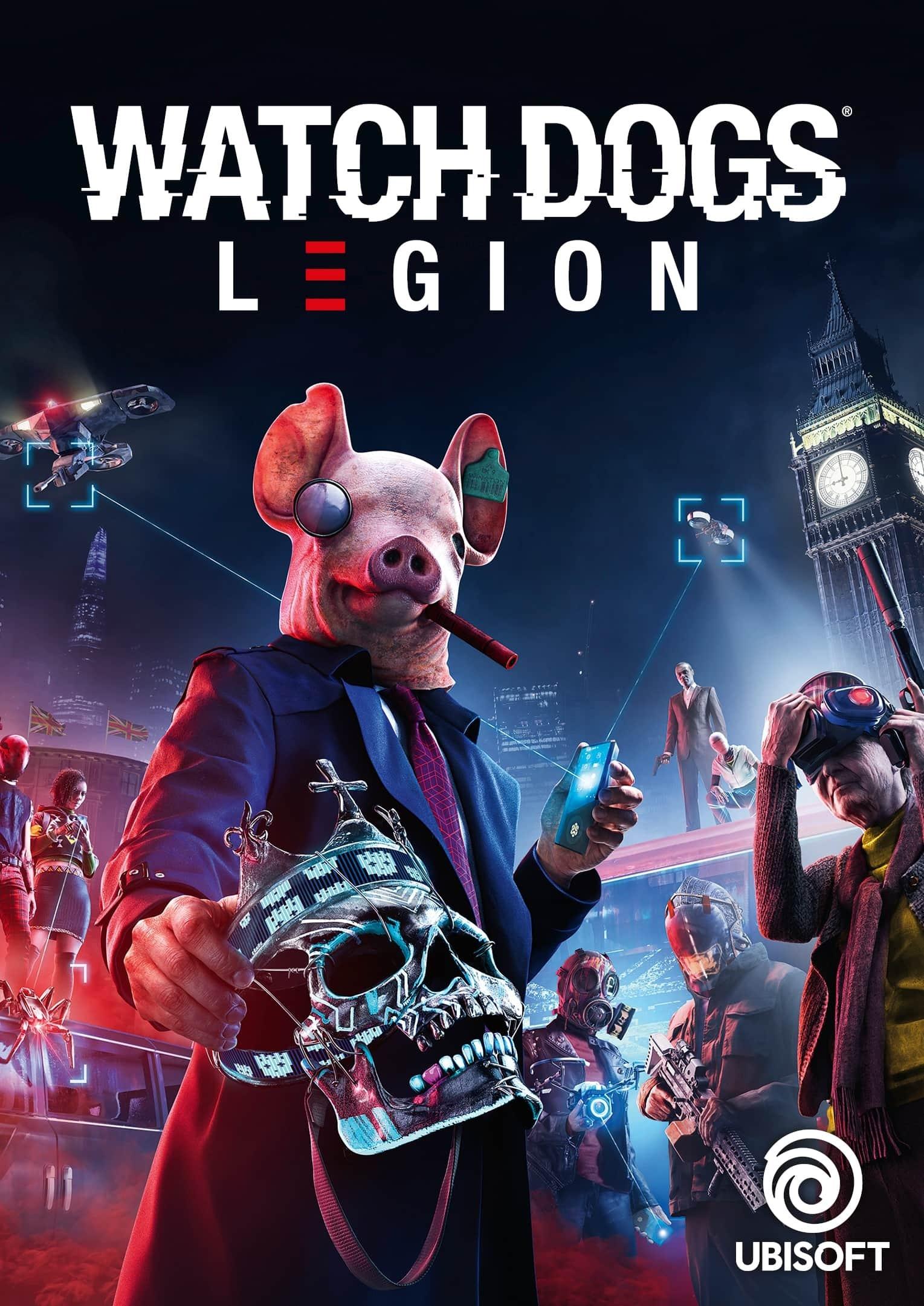 Watch Dogs®: Legion PS4 & PS5 A MITAD DE PRECIO