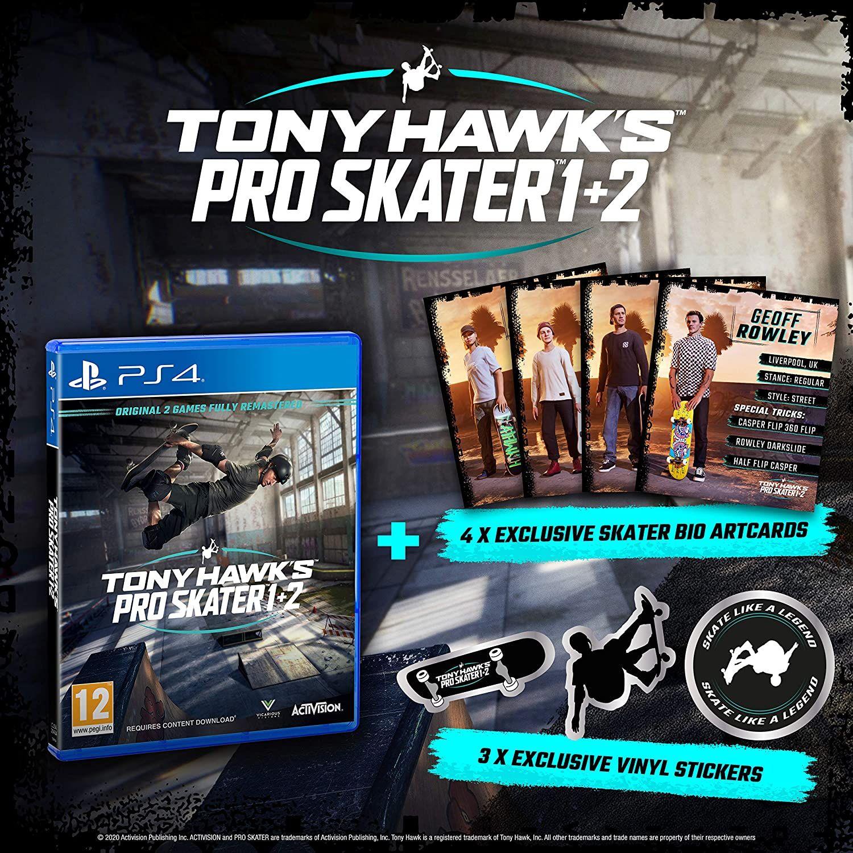 Tony Hawk - Day-One Limited PlayStation 4 [Importación italiana]